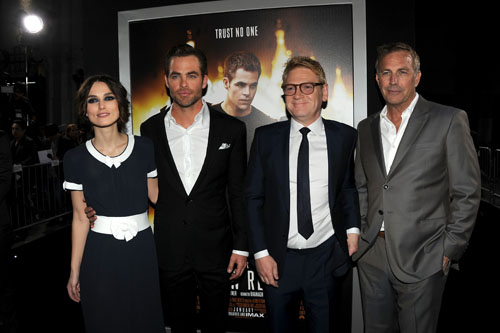 """Premiere Of Paramount Pictures' """"Jack Ryan: Shadow Recruit"""" - Red Carpet"""