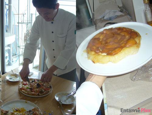 北海道100&魚介の贅沢グルメピザ/タルトタタン